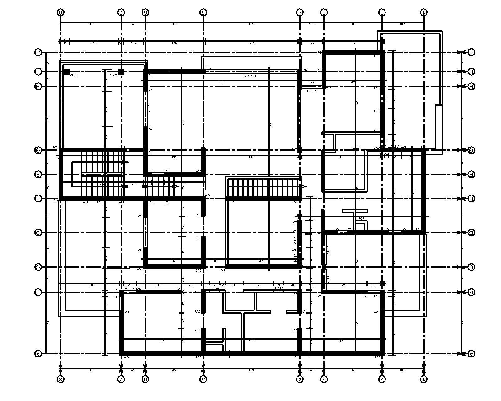 dessin maison plan architecture habitations. Black Bedroom Furniture Sets. Home Design Ideas